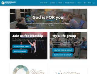 crossroadsumc.org screenshot