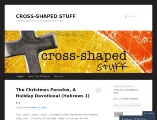 crossshapedstuff.com screenshot