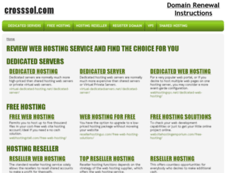 crosssol.com screenshot