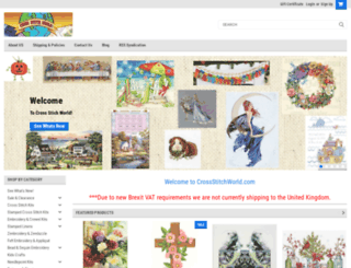 crossstitchworld.com screenshot