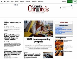 crossville-chronicle.com screenshot