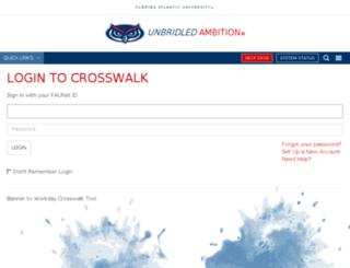 crosswalk.fau.edu screenshot