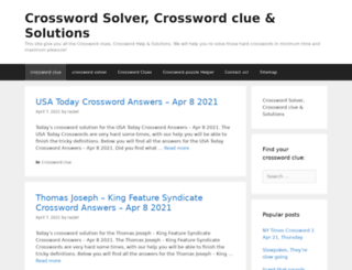 crossword-clue.com screenshot