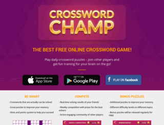 crosswordchamp.com screenshot