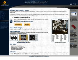 crosswordkit.com screenshot