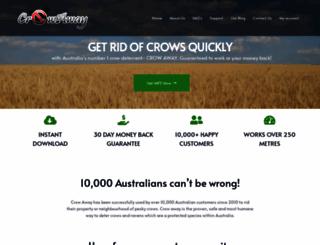 crowaway.com.au screenshot