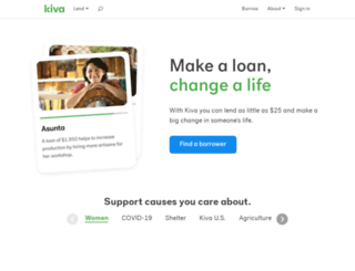 crowd.kiva.org screenshot