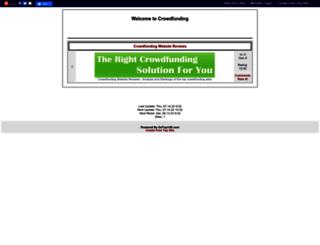 crowdfunding.gotop100.com screenshot