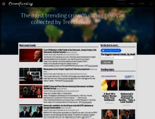 crowdfunding.trendolizer.com screenshot