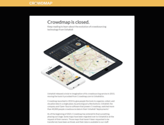 crowdmap.com screenshot