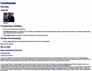 crowdsourcing.typepad.com screenshot