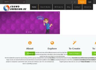crowdsourcing.us screenshot
