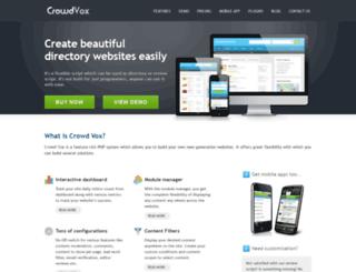 crowdvox.com screenshot