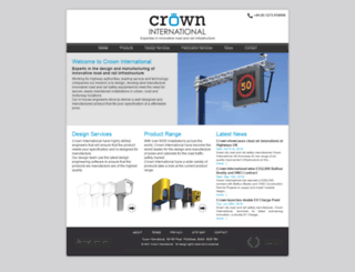 crown-international.co.uk screenshot