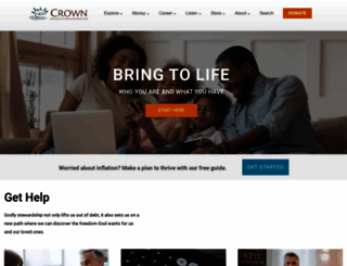 crown.org screenshot