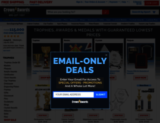 crownawards.com screenshot