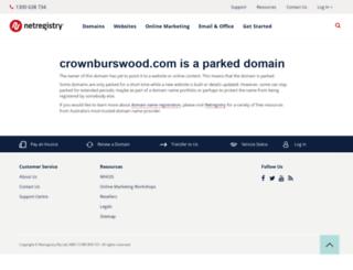 crownburswood.com screenshot