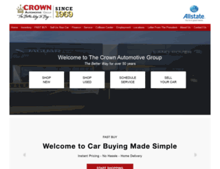 crowncars.com screenshot