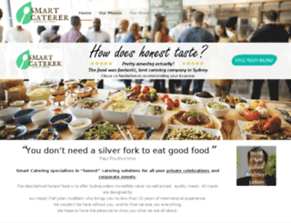 crowncatering.com.au screenshot