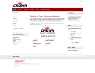crowndelivery.com screenshot