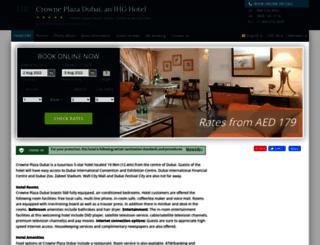crowne-plaza-dubai.hotel-rez.com screenshot