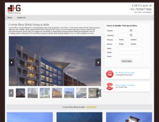 crowneplaza.hotelsgroup.in screenshot