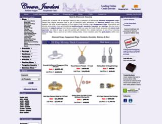 crownjewelers.com screenshot