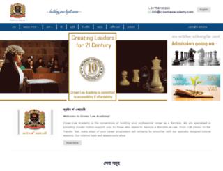 crownlawacademy.com screenshot