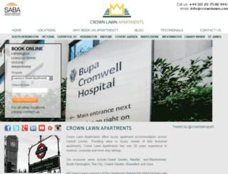 crownlawn.com screenshot