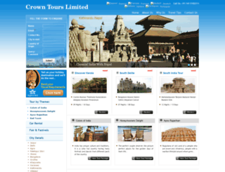 crownrajasthan.com screenshot