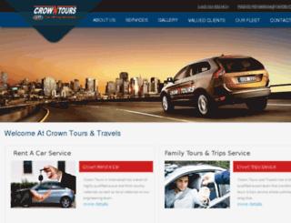 crowntourz.com screenshot