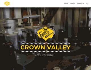 crownvalleyprivatelabel.com screenshot