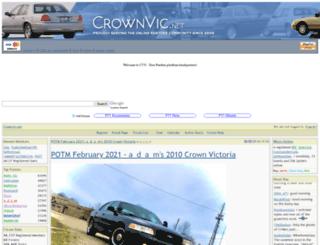 crownvic.net screenshot