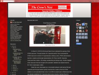 crowsnestprhs.blogspot.com screenshot