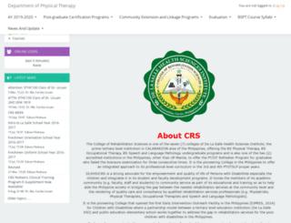 crs.dlshsi.edu.ph screenshot