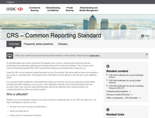 crs.hsbc.com screenshot