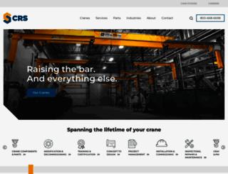 crscranesystems.com screenshot