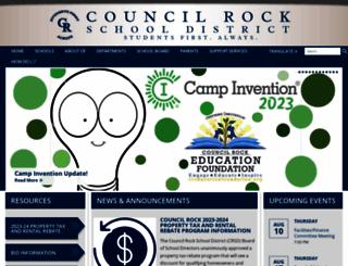 crsd.org screenshot
