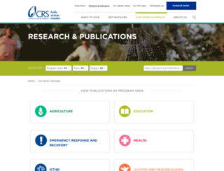 crsprogramquality.org screenshot