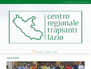 crtlazio.org screenshot