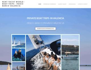 crucerosvalencia.com screenshot