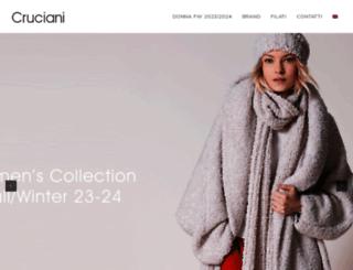 cruciani.net screenshot