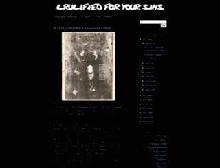 crucifiedforyoursins.blogspot.com screenshot