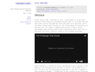 crudepixel.com screenshot