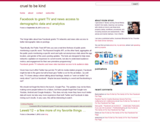 crueltobekind.org screenshot