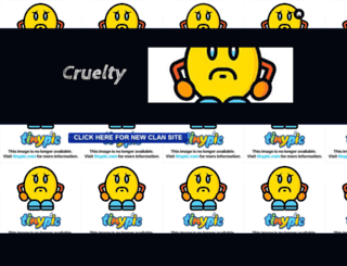cruelty-rs.webs.com screenshot