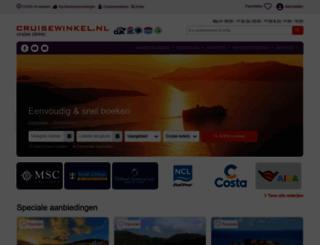 cruise-exclusief.nl screenshot