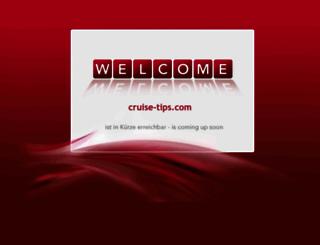 cruise-tips.com screenshot