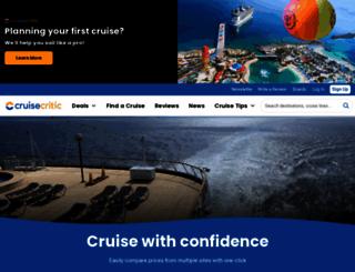 cruisecritic.com screenshot
