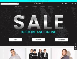 cruisefashion.co.uk screenshot
